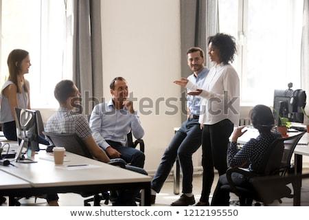 verkoop · vergadering · business · vrouwen · werk · schrijven - stockfoto © photography33