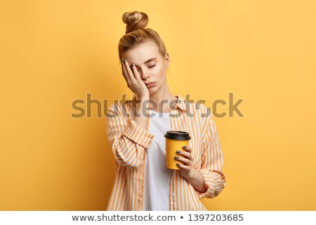 Blonde woman tired Stock photo © photography33