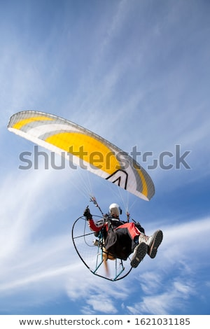 Powered paraglide Stock photo © 5xinc