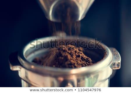 Kawy mieszanka brązowy formularza fali jak Zdjęcia stock © nicemonkey