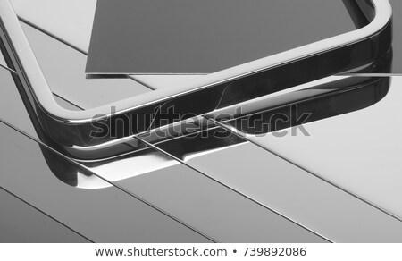 高い 光沢 反射 カトラリー 現代 デザイン ストックフォト © newt96