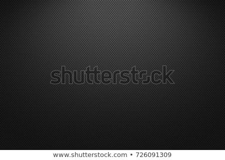 Szén textúra matt fém textúra eps 10 Stock fotó © IMaster