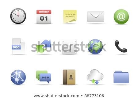 World wide web carpeta mano web comunicación gráfico Foto stock © 4designersart