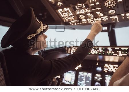 Female Pilot Stock photo © cteconsulting