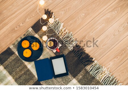 Slipper on a rug Stock photo © zzve