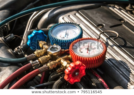 radiator cooling air condition systems in the automobiles isolat stock photo © johnkasawa