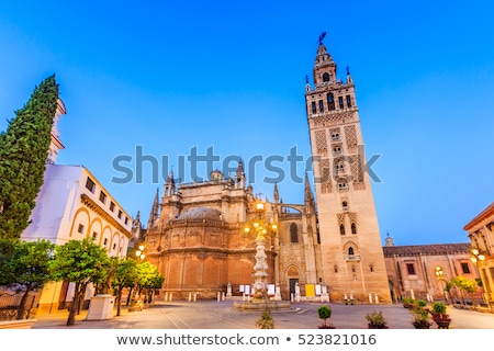 City View Tower from Giralda Tower Seville Cathedral Spain Stock photo © billperry