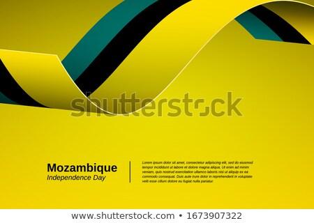 Cores Moçambique conjunto diferente símbolos projeto Foto stock © perysty