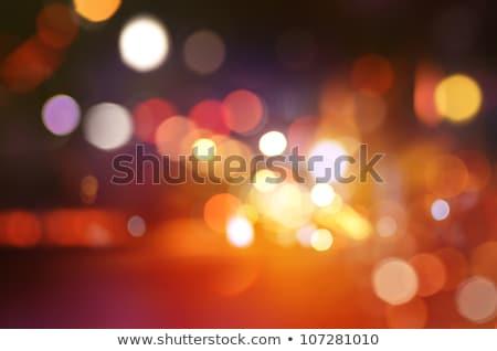 Soyut objektif bokeh ışık dizayn Stok fotoğraf © artlens