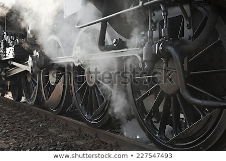 Steam Train Cranks Stock photo © rghenry