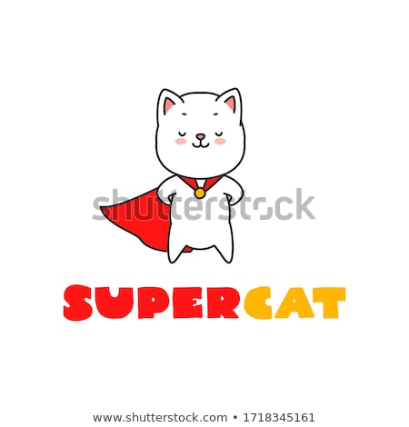 Supercat Stock photo © dashapetrenko