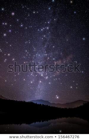Huge Twinkling Stars with Milky Way Stock photo © jameswheeler