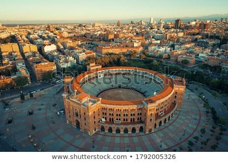 verekedés · aréna · Spanyolország · város · tájkép · utazás - stock fotó © kasto
