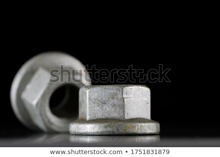 Special design nuts for the automotive industry Stock photo © marekusz