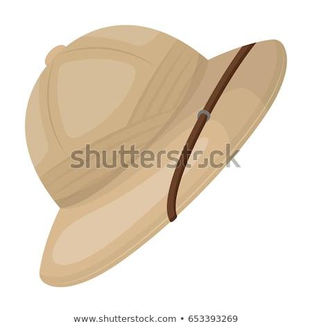Safari hat Stock photo © ozaiachin