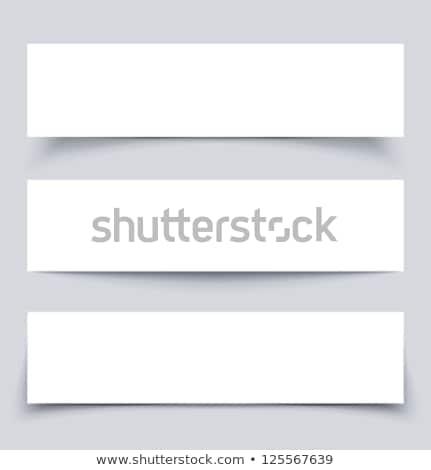 bannières · résumé · ombres · affaires · art - photo stock © blumer1979