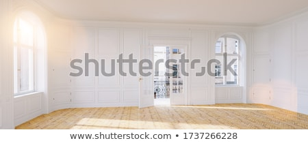 Old apartment house in Berlin Stock photo © elxeneize