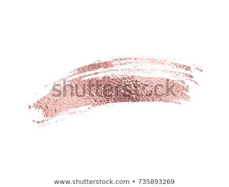 Bronz tinta vektor ecsetvonások terv festék Stock fotó © gladiolus