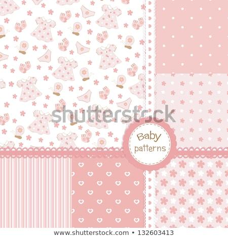 Slipje roze witte vrouwelijke Stockfoto © RuslanOmega