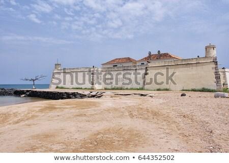 Forte de Sao Sebastiao Stock photo © homydesign
