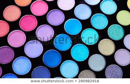 Profi szemhéjfesték paletta smink szem modell Stock fotó © tetkoren