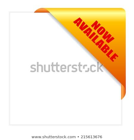Most citromsárga vektor ikon gomb terv digitális Stock fotó © rizwanali3d
