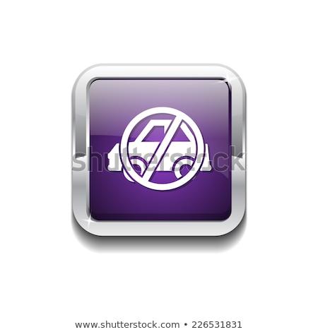 No Parking Violet Vector Icon Design Stock photo © rizwanali3d