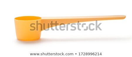 yellow plastic scoop stock photo © dcwcreations