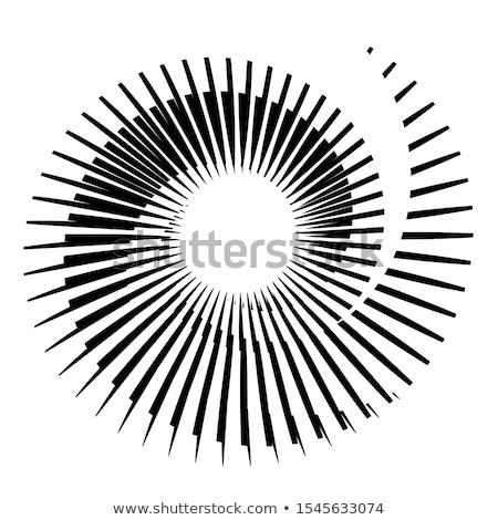 absztrakt · pontozott · dizájn · elem · feketefehér · terv · felirat - stock fotó © beholdereye