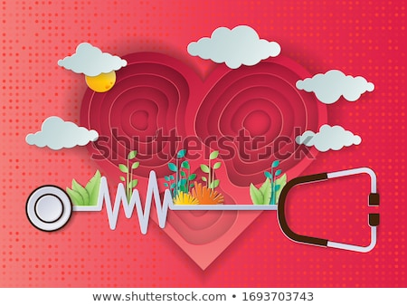 Set of Health day icons Stock photo © angelp