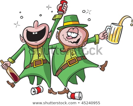 Stock photo: leprechaun toast