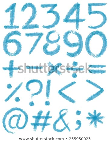 Percentage nummers Rood witte illustratie achtergrond Stockfoto © make