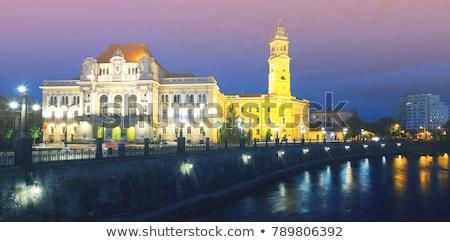 Arquitectura histórica Rumania Europa edificio verano azul Foto stock © Spectral