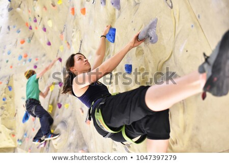 Paar mensen sport hal ondergoed man Stockfoto © ssuaphoto
