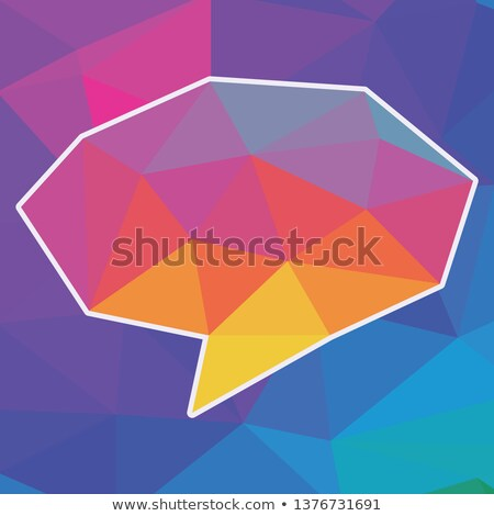 Buttons with cloud callout templates Stock photo © bluering