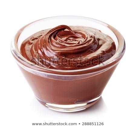 Surowy biały pudding żywności mięsa gotowania Zdjęcia stock © M-studio