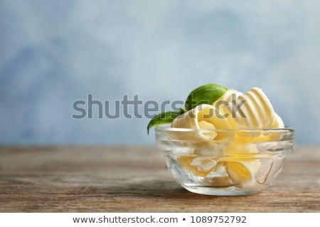 чаши масло свежие стекла Сток-фото © Digifoodstock