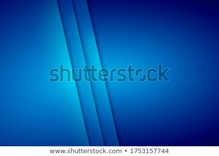 Shiny cyan blue smooth triangles tech background Stock photo © saicle
