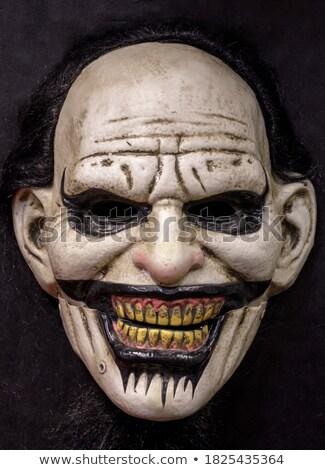 Arrepiante dentes sinistro dramático baixar humanismo Foto stock © albund