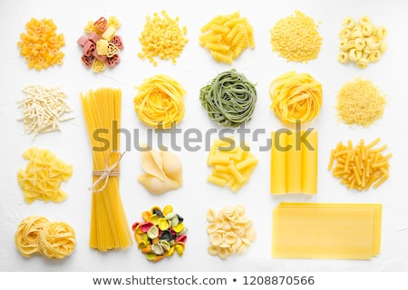 various types of dried pasta stock photo © digifoodstock