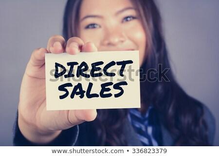 Mlm marketing verkoop niveau laptop scherm Stockfoto © tashatuvango