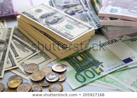Euro and USA dollar money banknotes background Stock photo © vlad_star