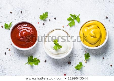 grecki · sos · tradycyjny · kanapkę · mięsa · pomidorów - zdjęcia stock © m-studio