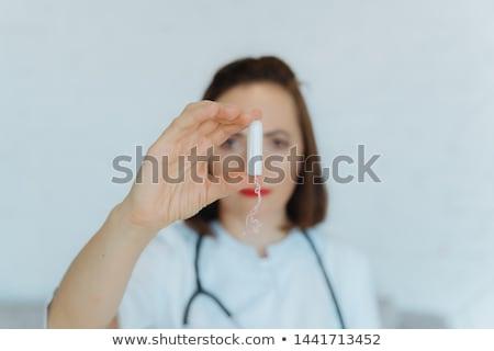 женщину врач портрет женщины белый Сток-фото © Traimak