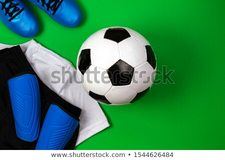 Football Soccer flat lay Stock photo © RTimages