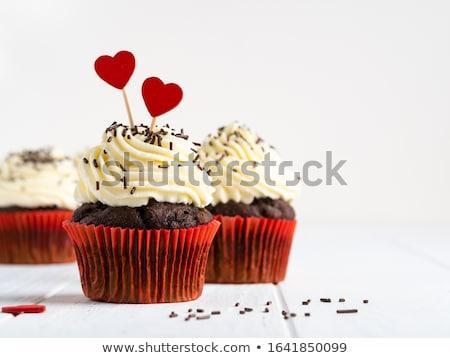 красивой шоколадом сердце матери день Сток-фото © Melnyk