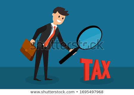 Consulting - Cartoon Red Word. Business Concept. Stock photo © tashatuvango