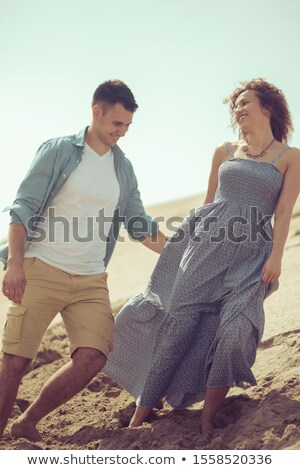 Stock photo: The Beach Brings Out My Happy