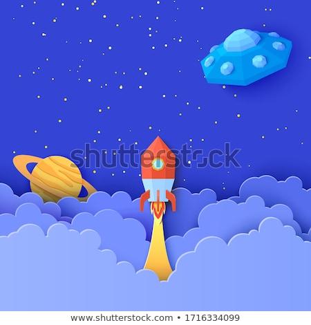 Cartoon Saturn Idea Stock photo © cthoman