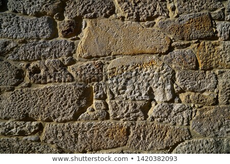 Granit pierre Bush maçonnerie mur galice Photo stock © lunamarina